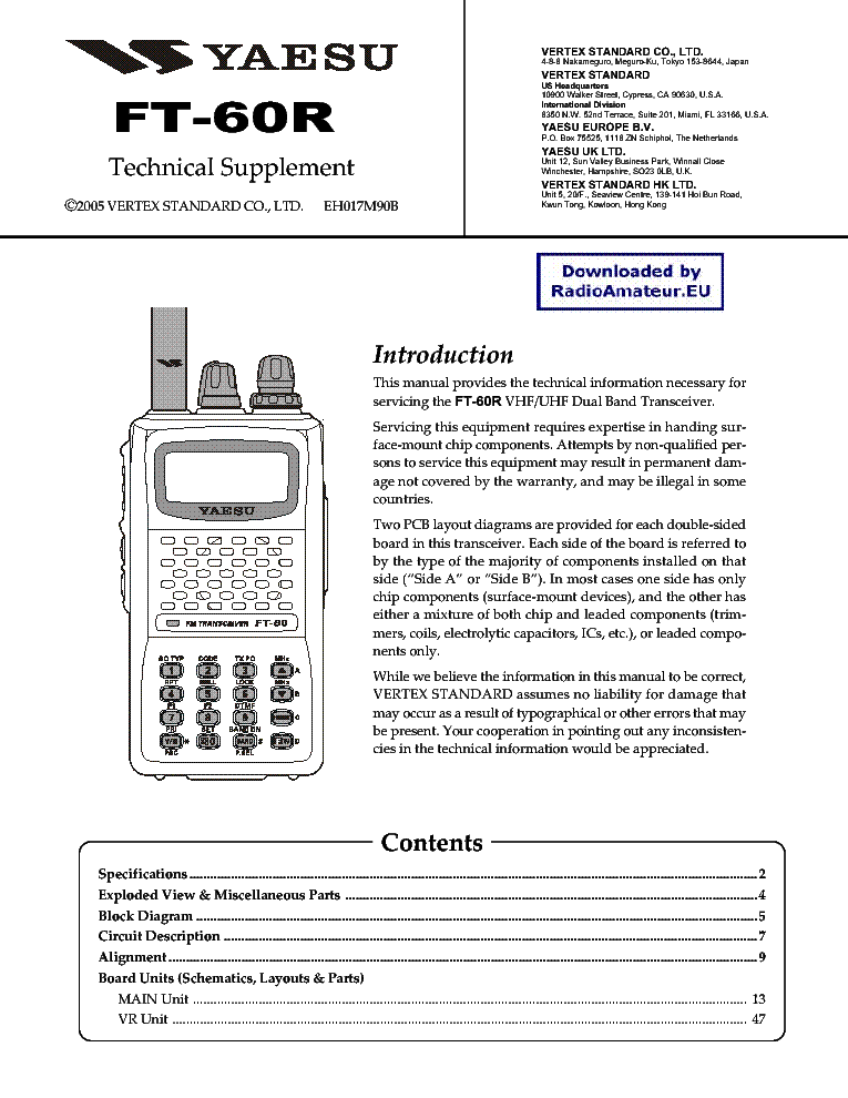 yaesu ft60 service manual download schematics eeprom repair info rh elektrotanya com yaesu ft-60 service manual yaesu ft 60 manual pdf