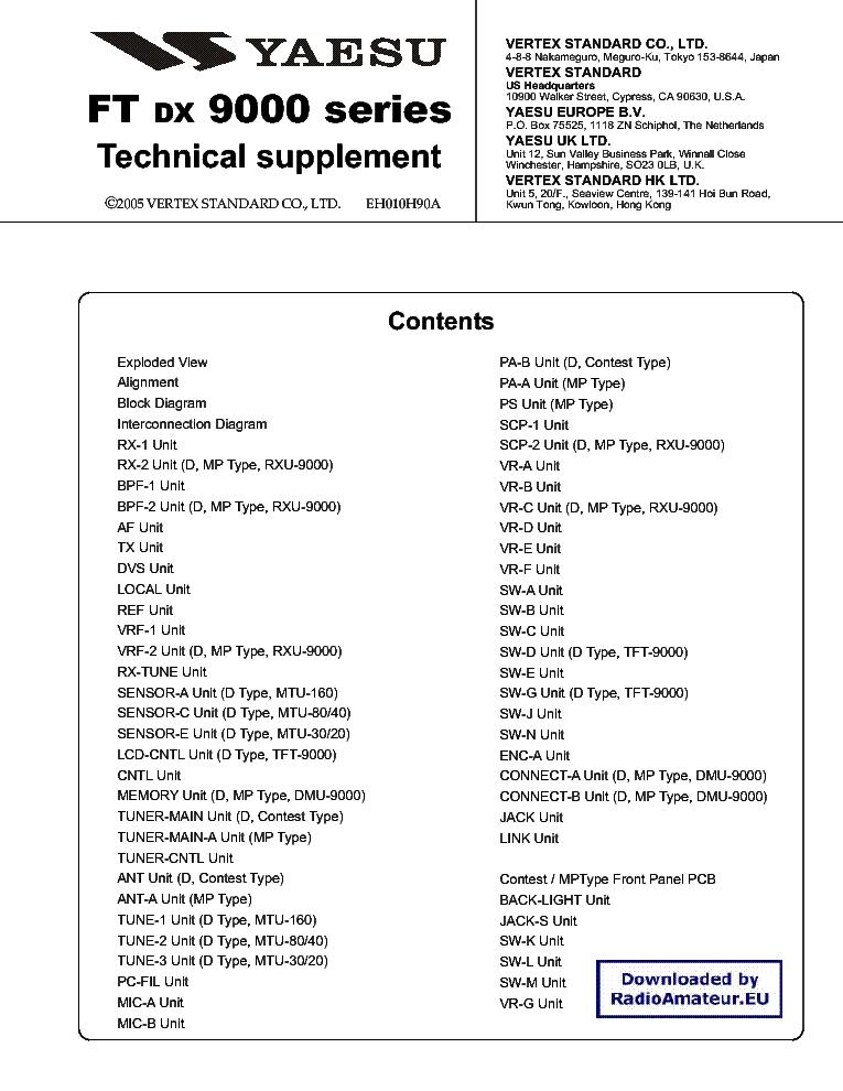 yaesu ftdx 1200 service manual