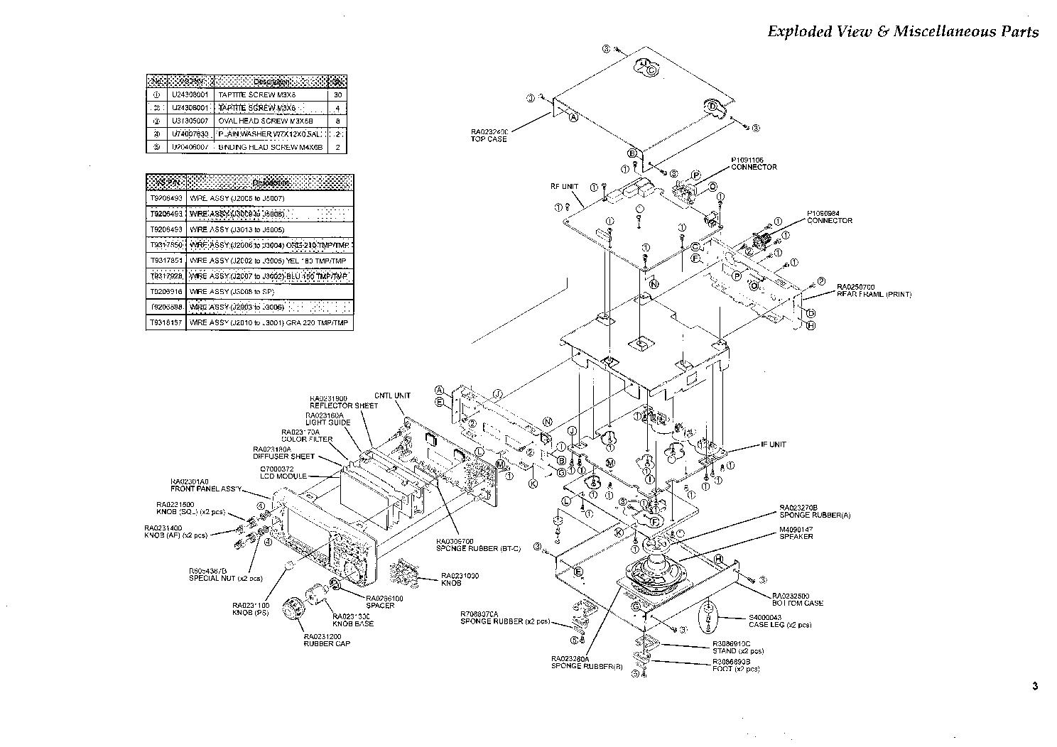 Yaesu Wiring Diagram Data Schematic Condenser Microphone For The Mh31 Vr 5000 Service Manual Download Schematics Eeprom Repair Rh Elektrotanya Com Ct 131 Md 1