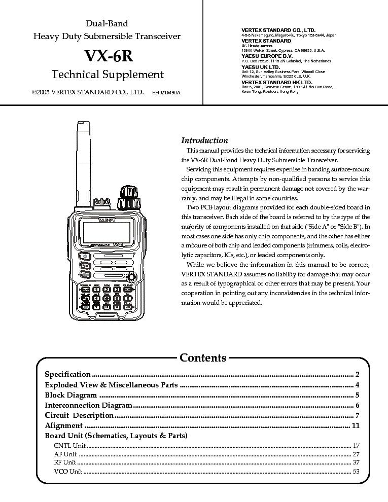 Yaesu Vx-2 инструкция на русском - фото 6