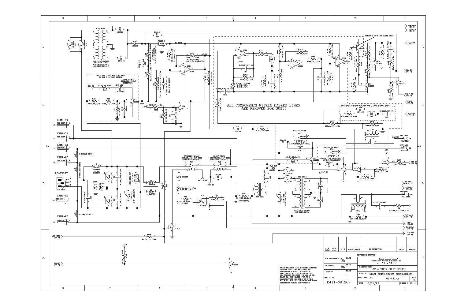 apc_370ci_su250 1_su400 1_sch.pdf_1 apc 600va ups circuit diagram circuit and schematics diagram apc wiring diagram at fashall.co