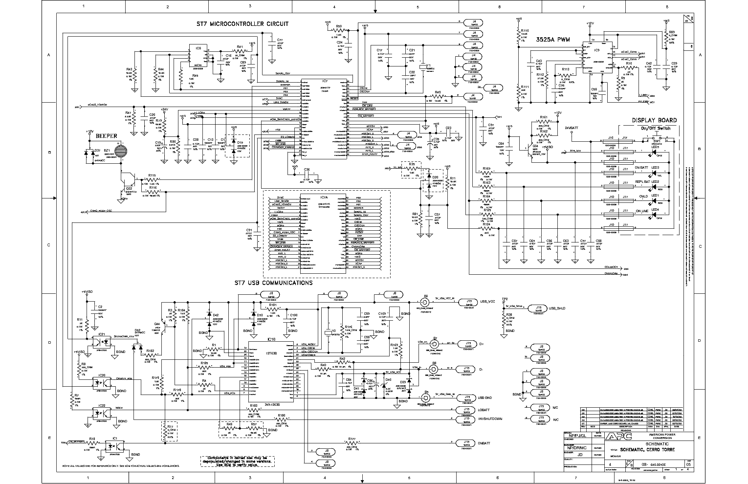 apc smart ups 1500 circuit diagram