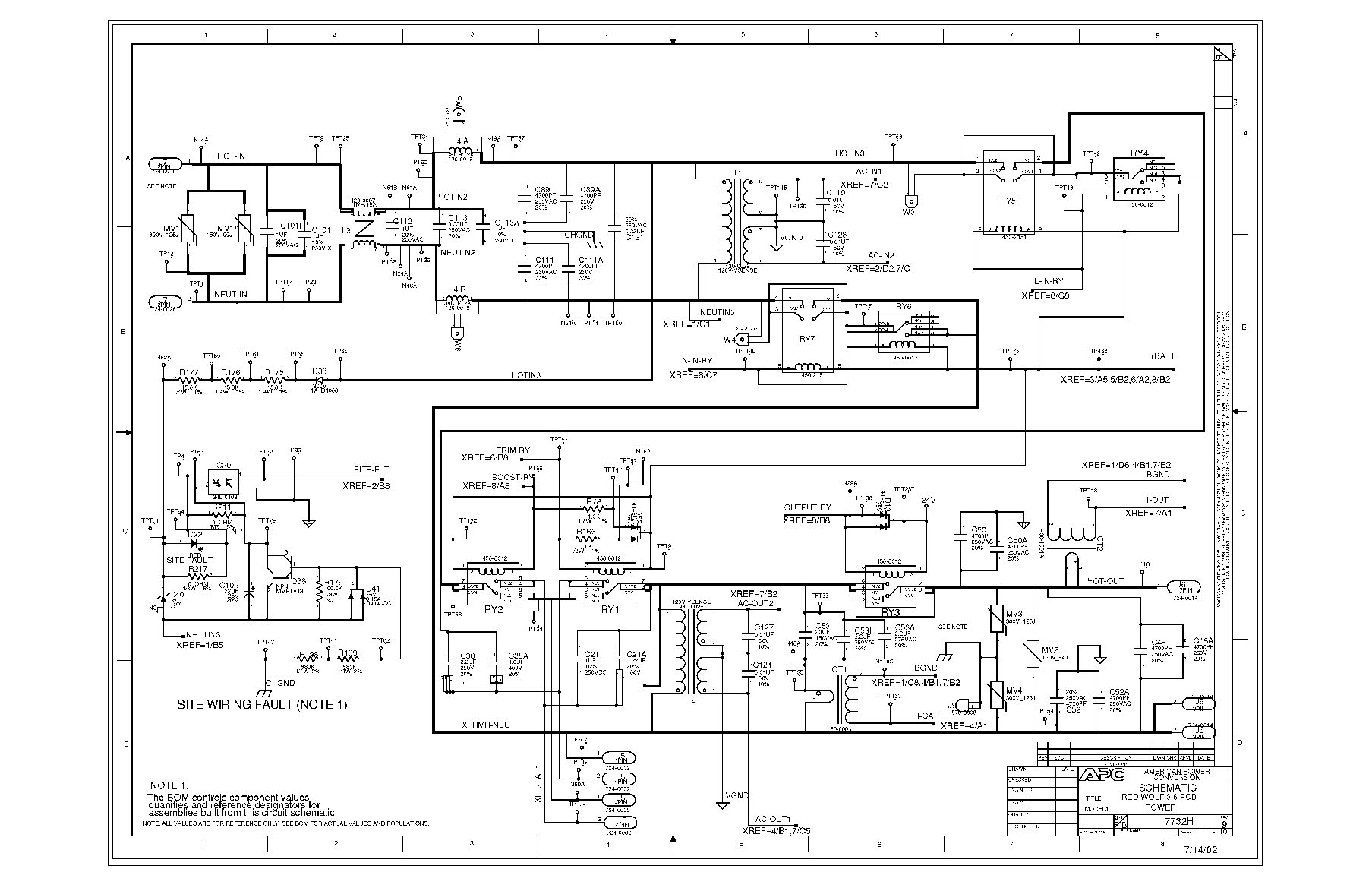 apc 900 xp wiring diagram 2011 polaris ranger xp wiring diagram #3