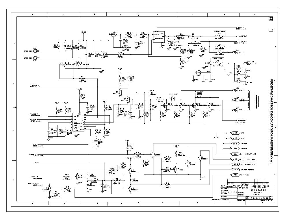 APC BP500I UPS SCH Service Manual download, schematics, eeprom