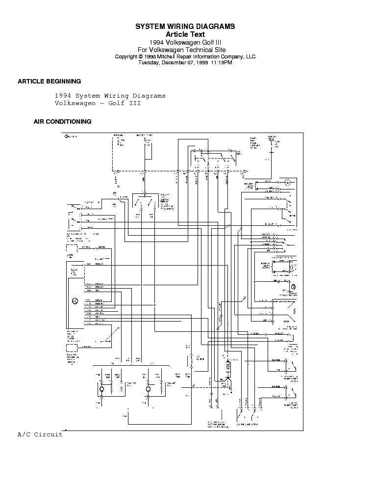 volkswagen vw golf iii 3 94 elektromos rajz service manual download rh elektrotanya com vw golf 3 climatronic manuel vw golf 3 pdf manuel