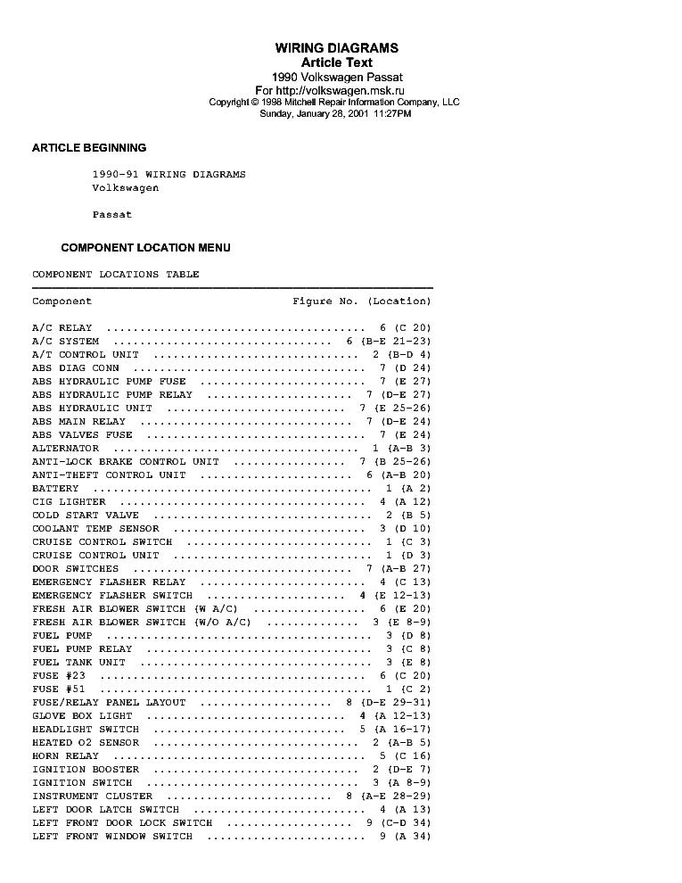 Vw volkswagen passat b5 1995-1997 service manual download manuals.