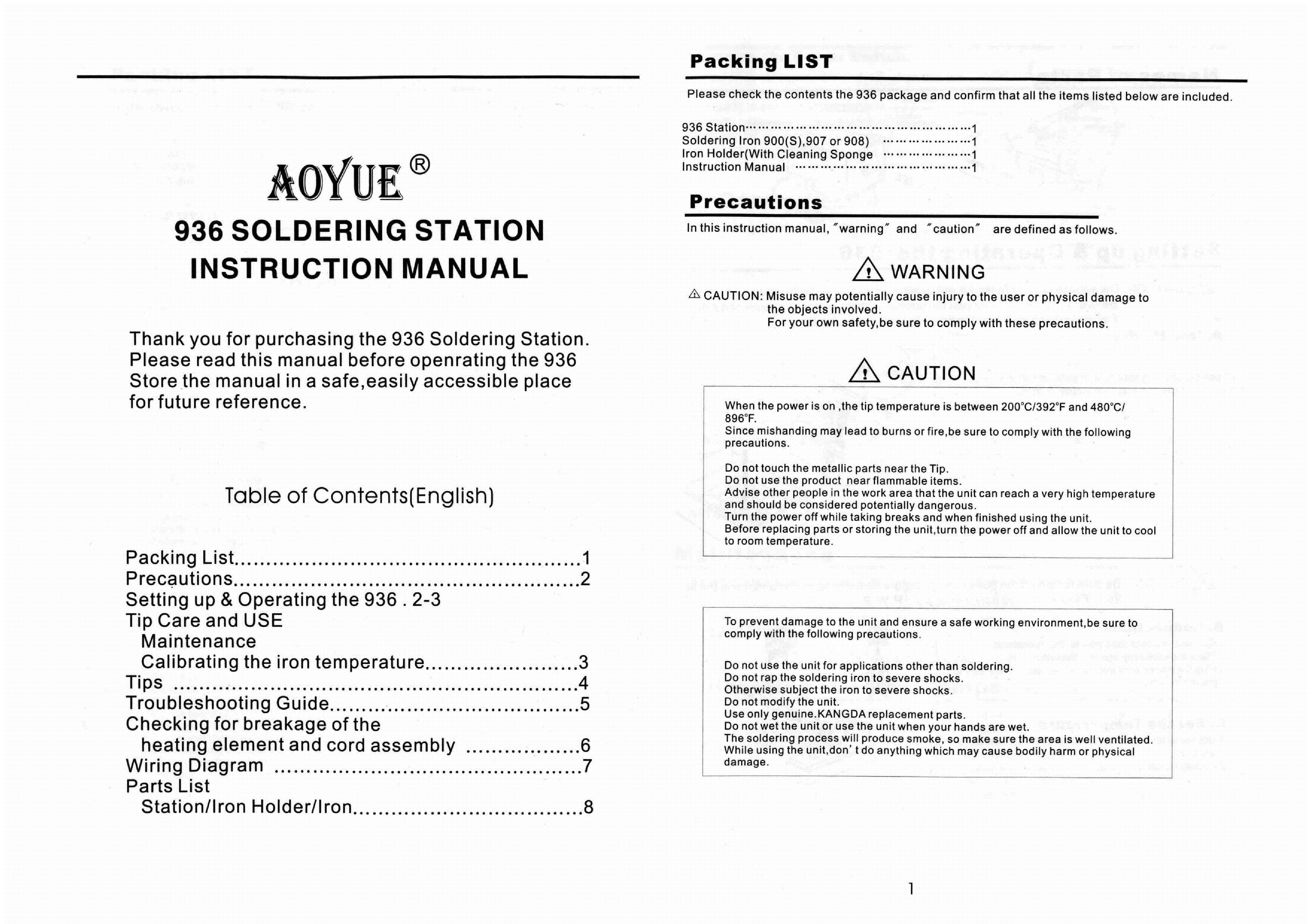 Soldering Iron Manual Wiring Diagram Aoyue Station Service Download Schematics 4385x3100