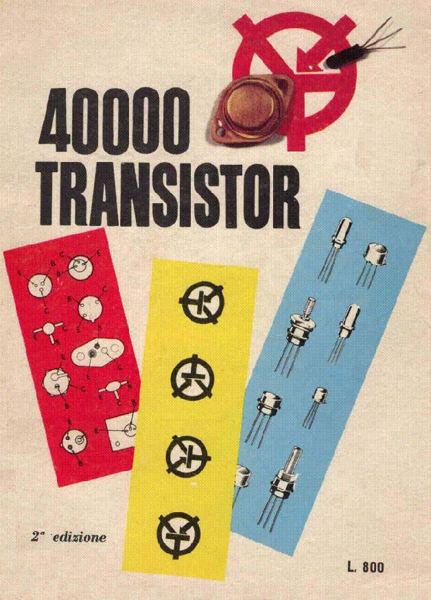 40000 TRANSISTOR CATALOG ITALY service manual (1st page)
