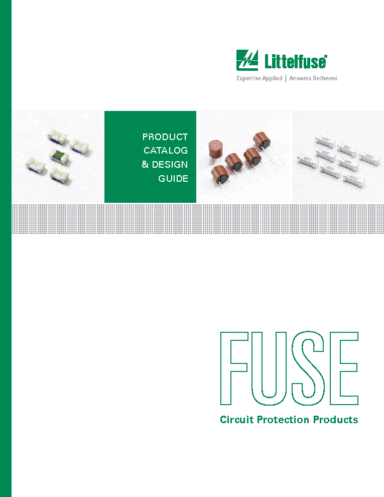 LITTELFUSE ELECTRONIC FUSE PRODUCTS BIZTOSITEK CATALOG service manual (1st page)