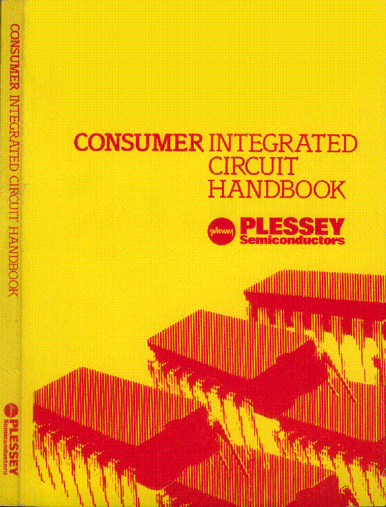 PLESSEY CONSUMER IC 1981 HANDBOOK service manual (1st page)
