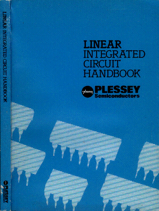 PLESSEY LINEAR IC 1983 HANDBOOK service manual (1st page)