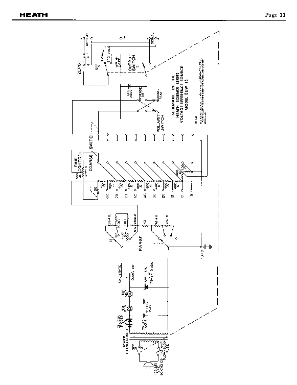 HEATHKIT EUW-16 LINE VOLTAGE REFERENCE SOURCE SCH service manual (2nd page)