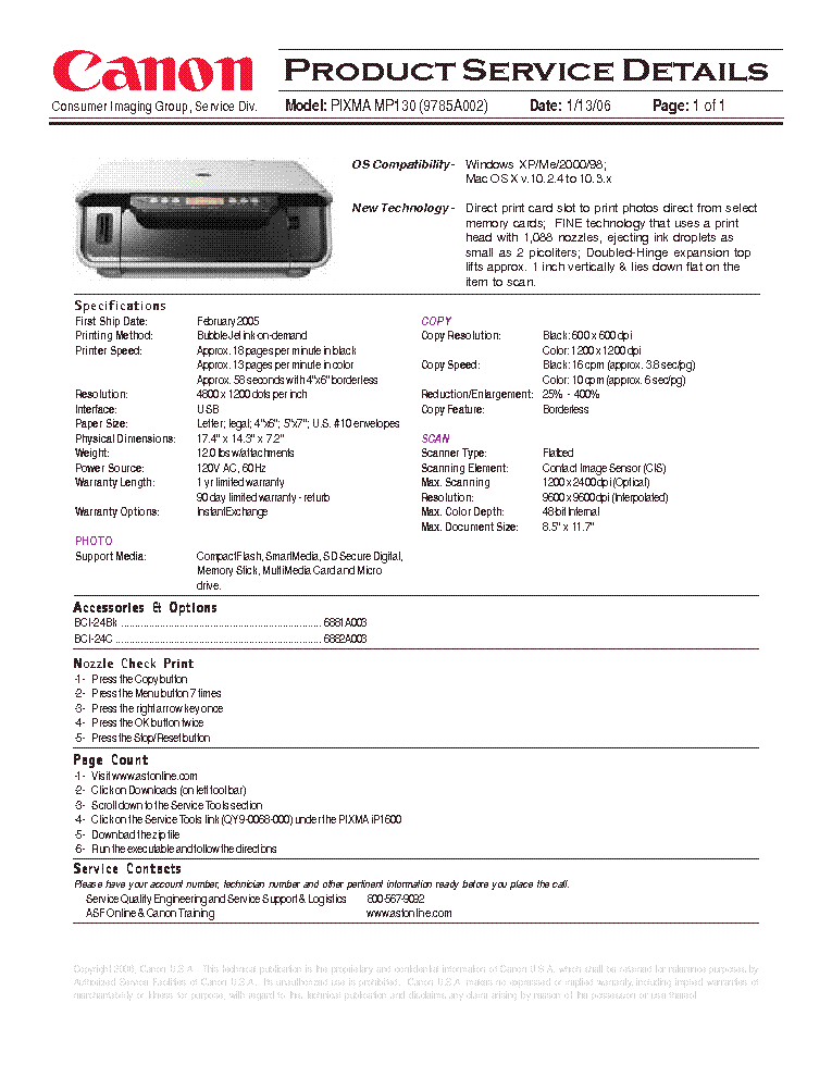 Download free pdf for canon pixma ip1700 printer manual.