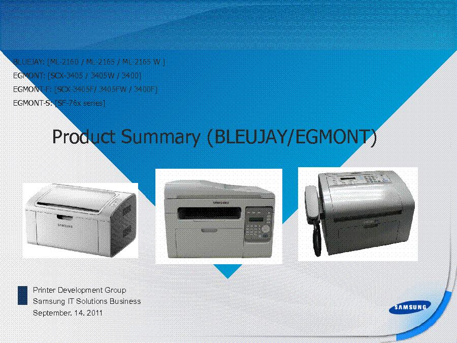 SAMSUNG ML-2160 ML-2165 ML-2165W SCX-3405 3405W 3400 3405F