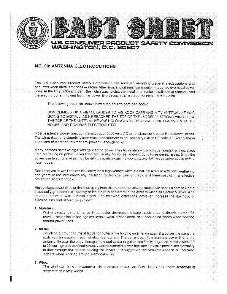 WILSON WV-1 2KW-PEP 10-40METER VERTICAL TRAP ANTENNA SM Service