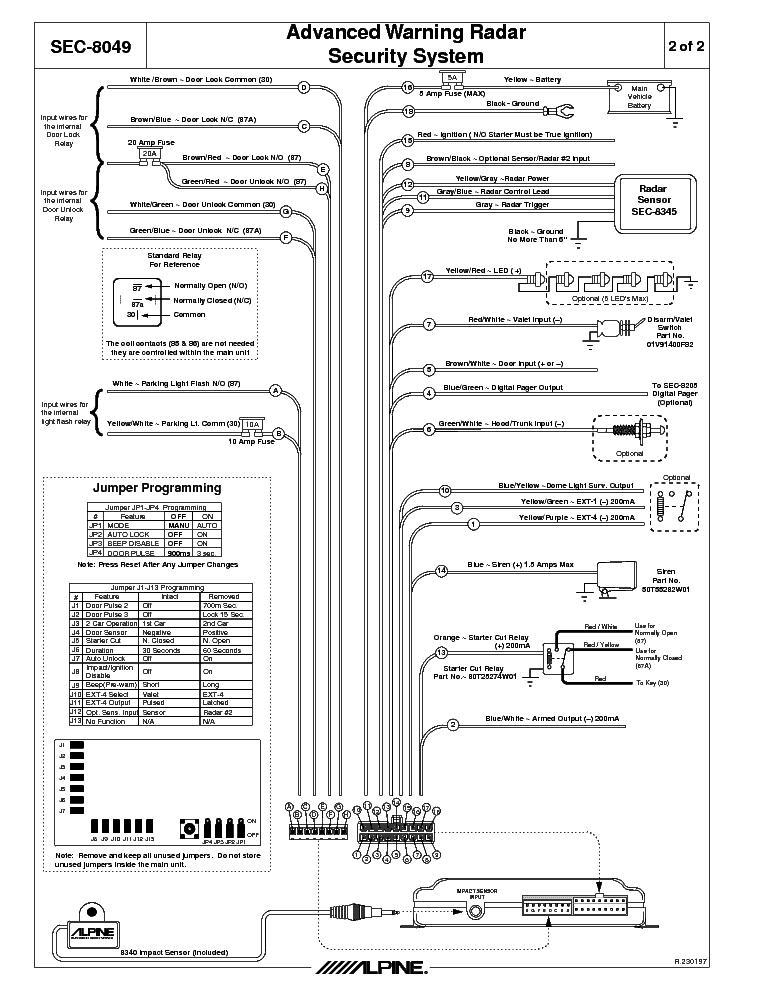 Alpine Dvd Wiring Diagram