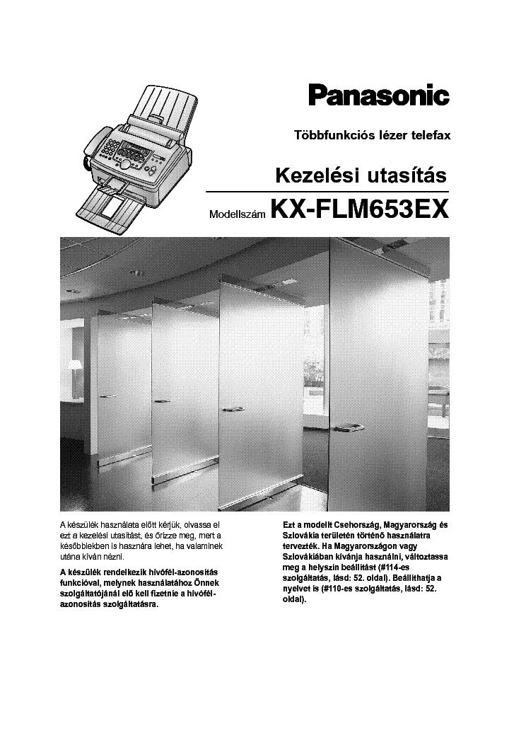 Panasonic KX-FLM653EX Multi-Function Station Drivers Download Free