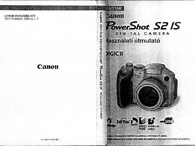 canon powershot s2 is usermanual hu service manual download rh elektrotanya com powershot s2 is manual powershot s2 is manual pdf