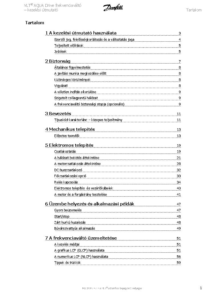 danfoss fc 200 manual