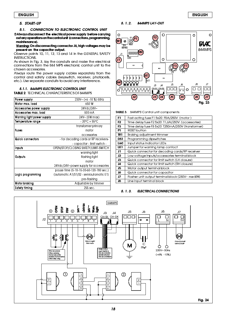 faac 844mps_lay out_securitex_elektric_manual_eng.pdf_1 s elektrotanya com previews 45612216 userman faac photocell wiring diagram at couponss.co