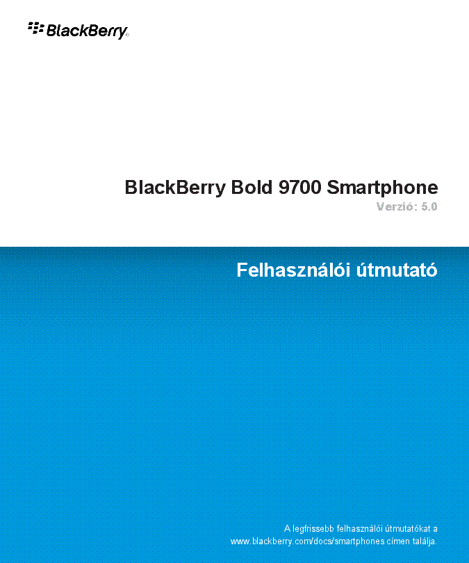 Pdf For Bb 9700