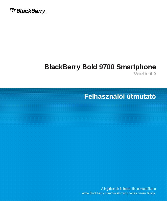 Pdf For Bb 9700
