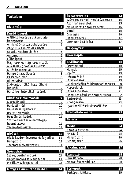 Nokia 2730 Classic Usermanual Hu Service Manual Download