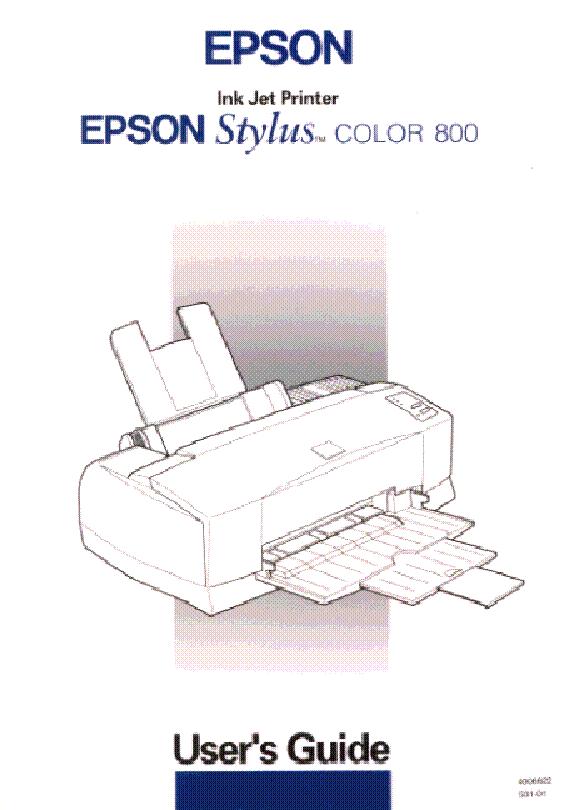 EPSON STYLUS COLOR 800