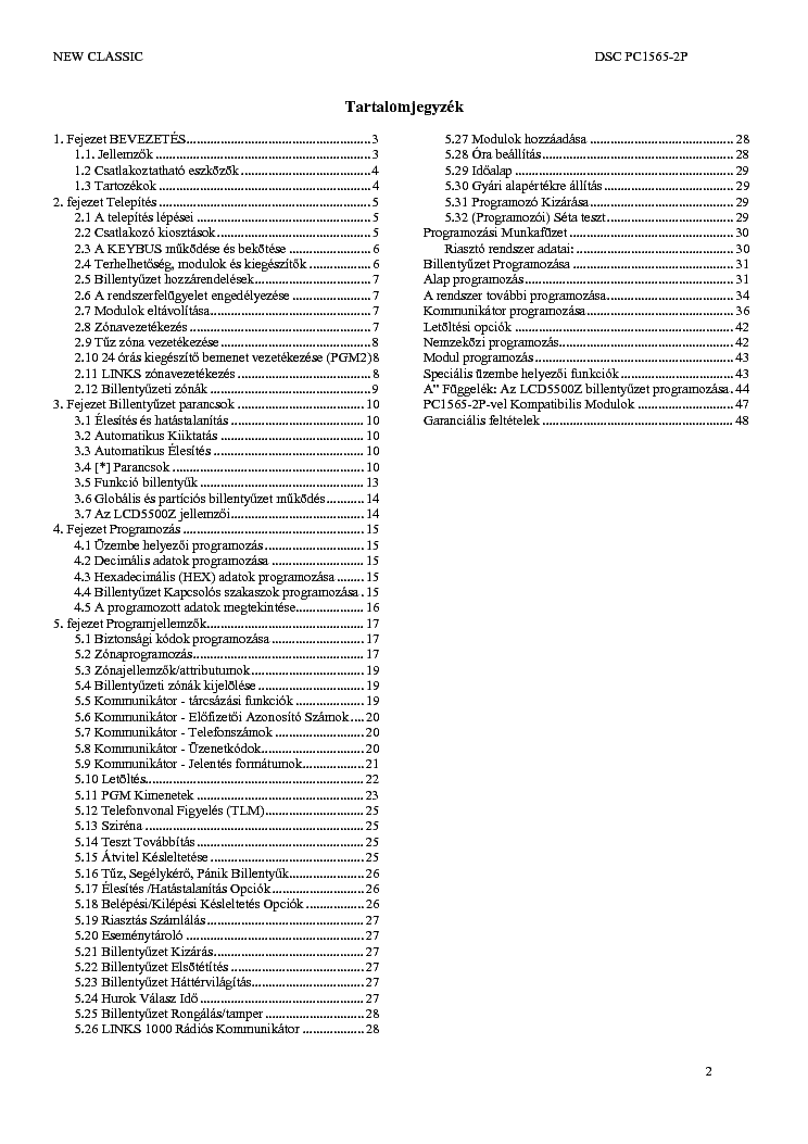 Dsc Classic Pc1565