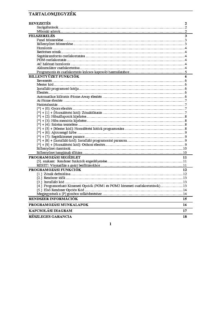 Dsc Pc500 Programozasa Service Manual Download  Schematics