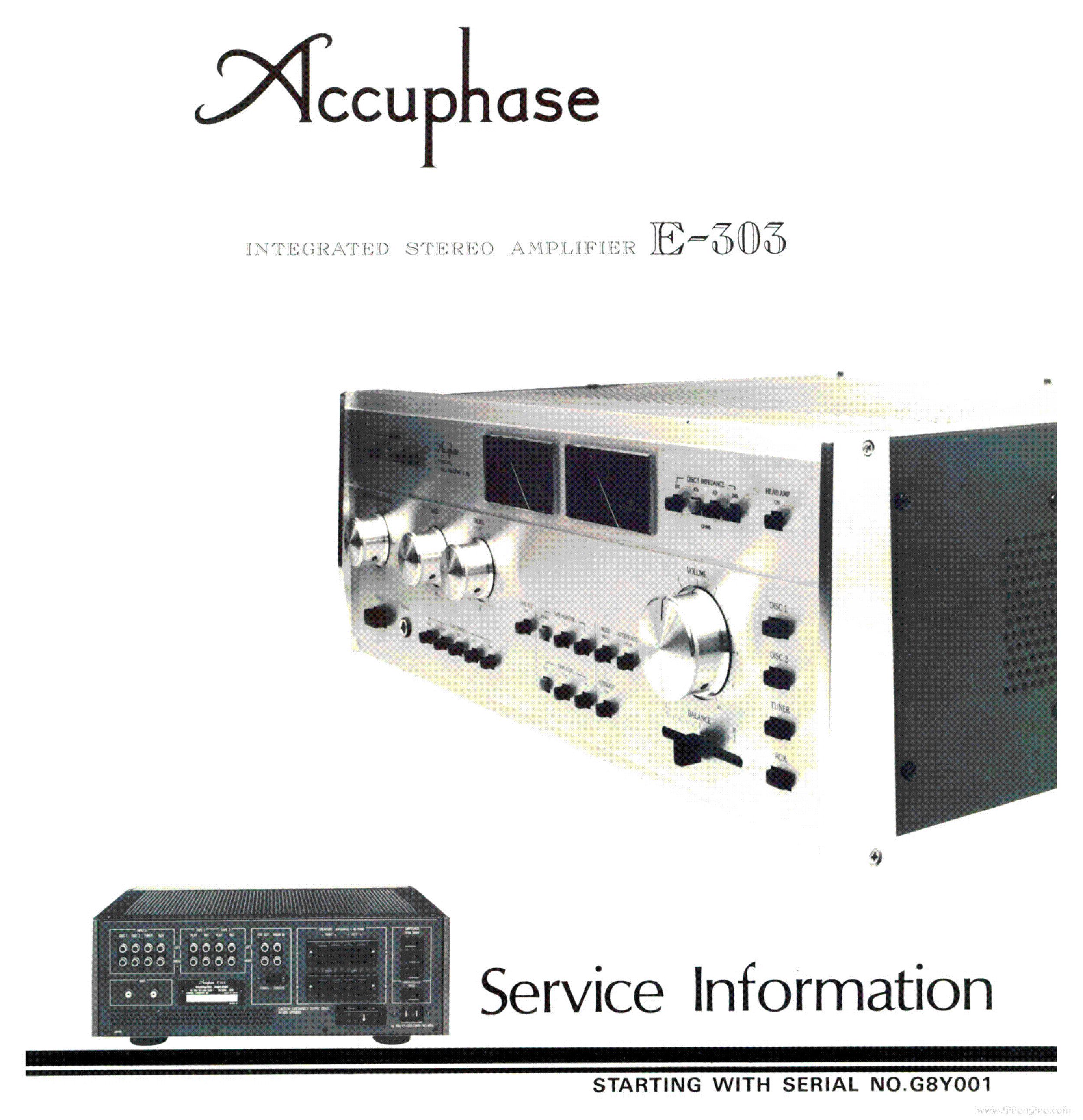 ACCUPHASE P700 CIRCUIT A3 Service Manual download, schematics