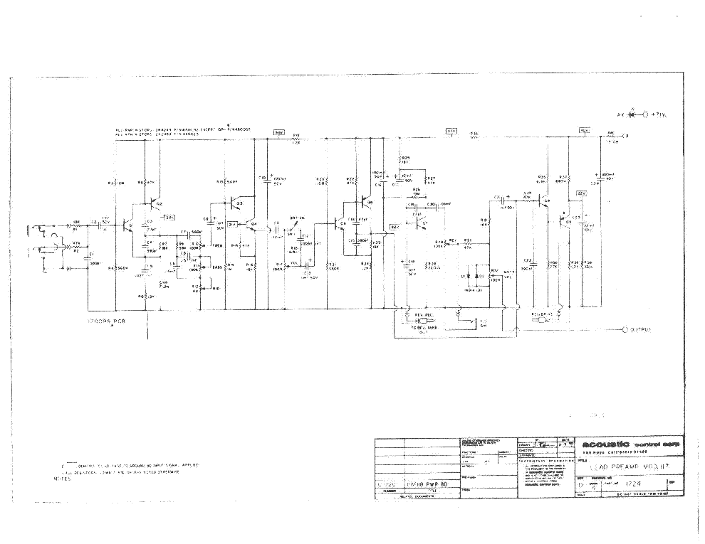 Acoustic 117 118 Sch Service Manual Download Schematics Eeprom