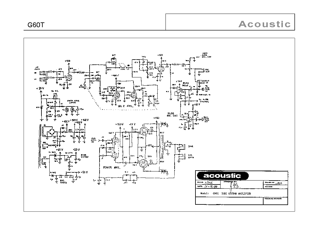 Acoustic Research A 06 Sm 1 Service Manual Download Schematics