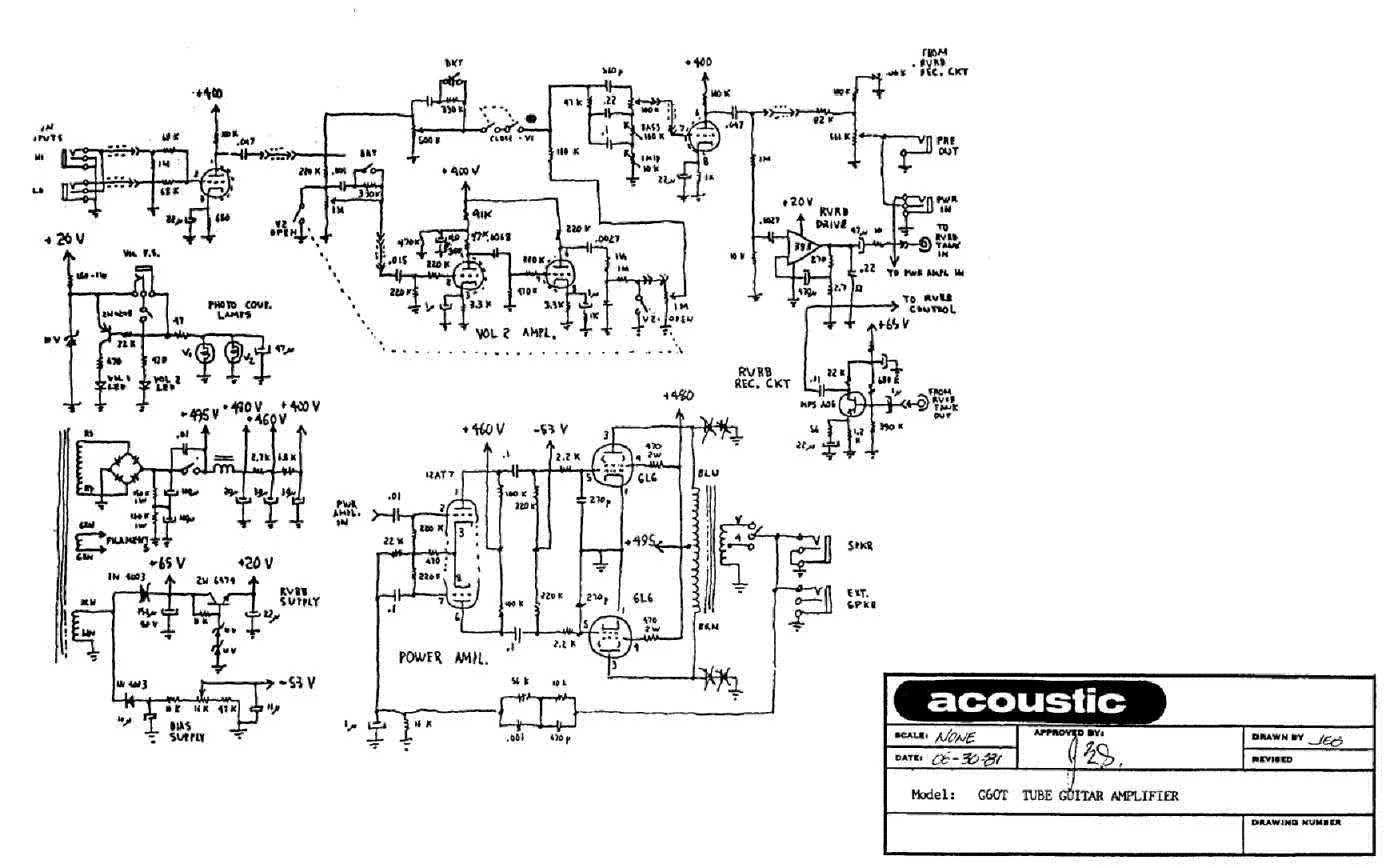 Dean Guitar Amplifier Schematics Wiring Diagram Will Be A Thing Series Circuit Schematic Get Free Image About Vox Diy Stereo Tube