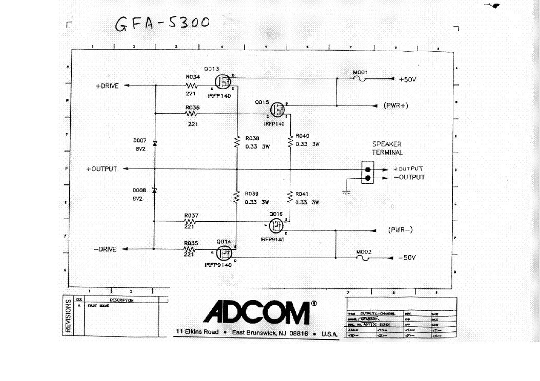 adcom gfa 5300 sch service manual download schematics eeprom rh elektrotanya com adcom gfa 555 service manual adcom gfa 535 service manual