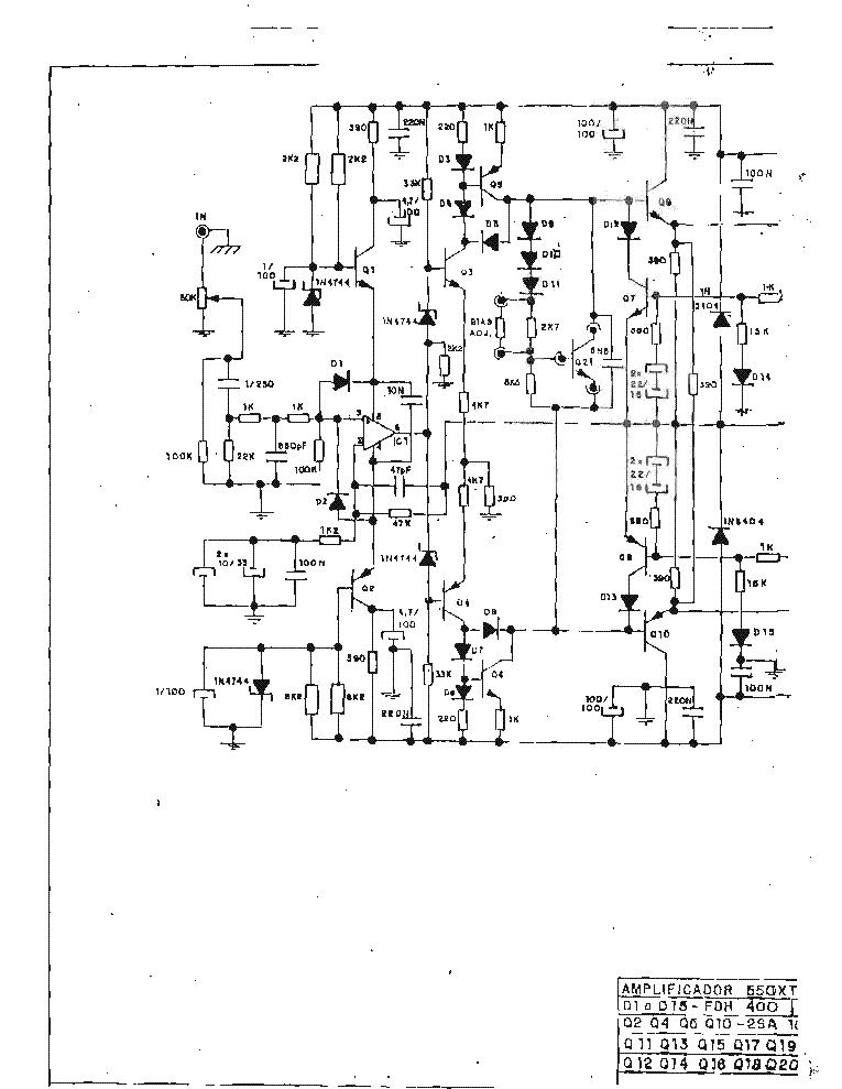 Advance 550xt Rf602 Amplifier Sch Service Manual Download