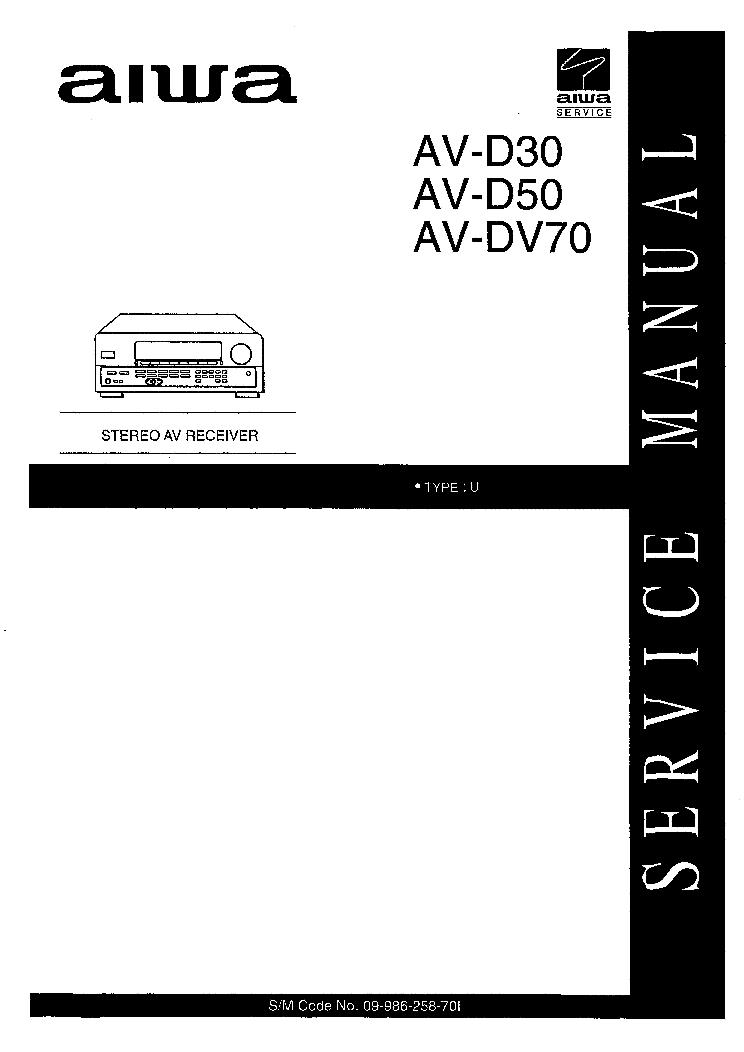 aiwa av d30 av d50 av dv70 service manual aiwa av d30 av d50 av dv70 service manual schematics eeprom repair info for electronics