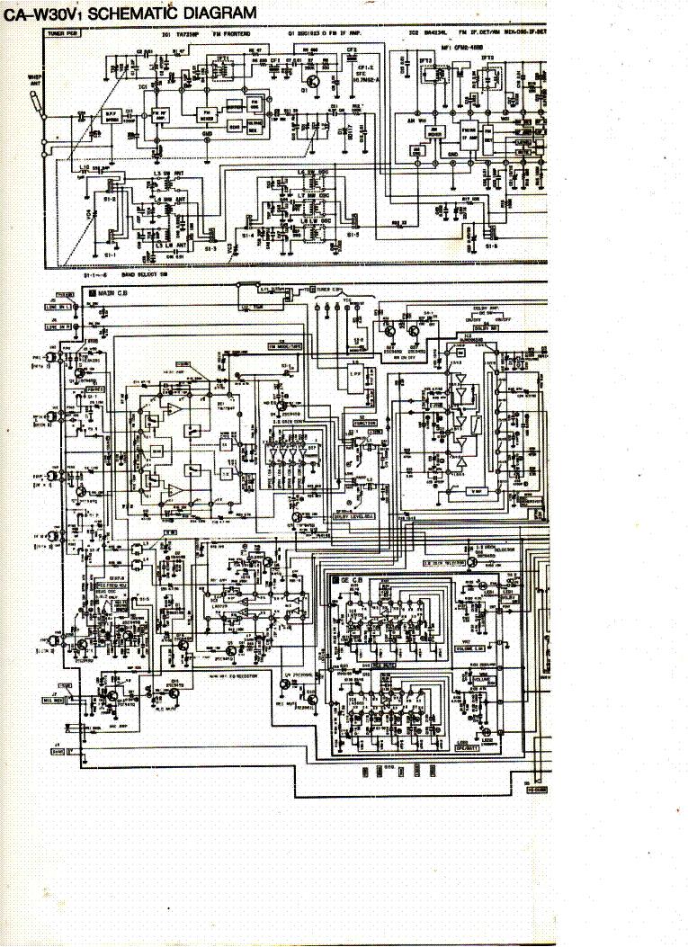 WRG-5951] Repair Manual Aiwa Nsx Wvt99 Cd Stereo Cette ... on