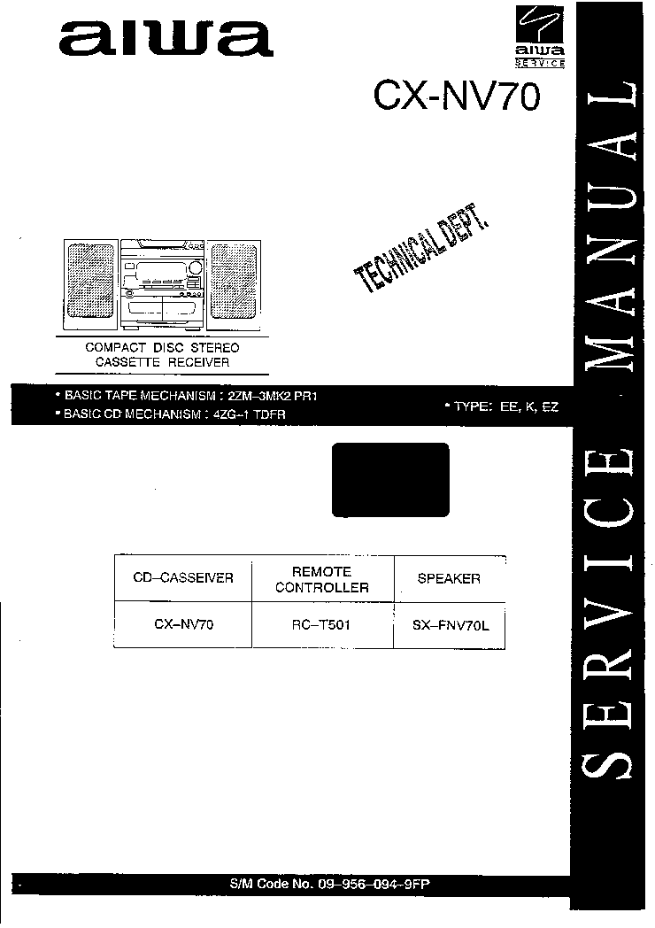 Aiwa xr avh1200 Manual Pdf