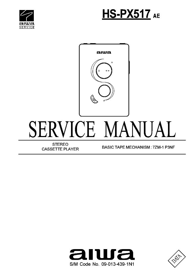 aiwa hs px517 service manual download schematics eeprom repair rh elektrotanya com