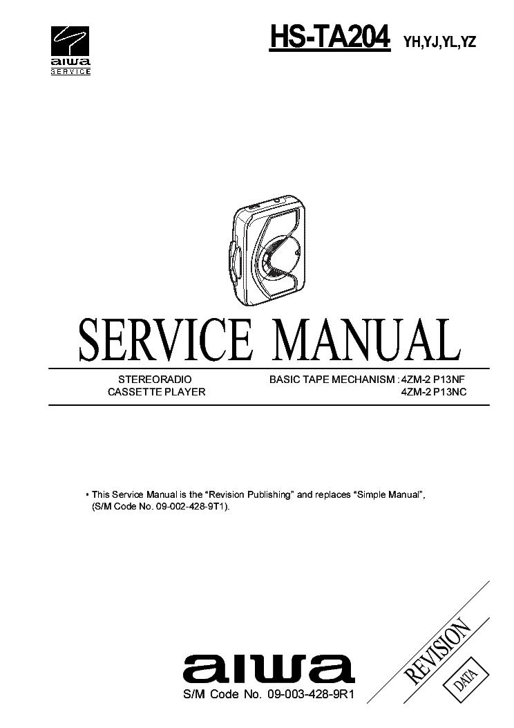 aiwa ad wx220 service manual