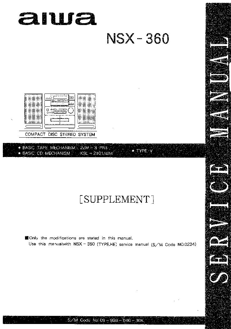 Схема муз центра aiwa