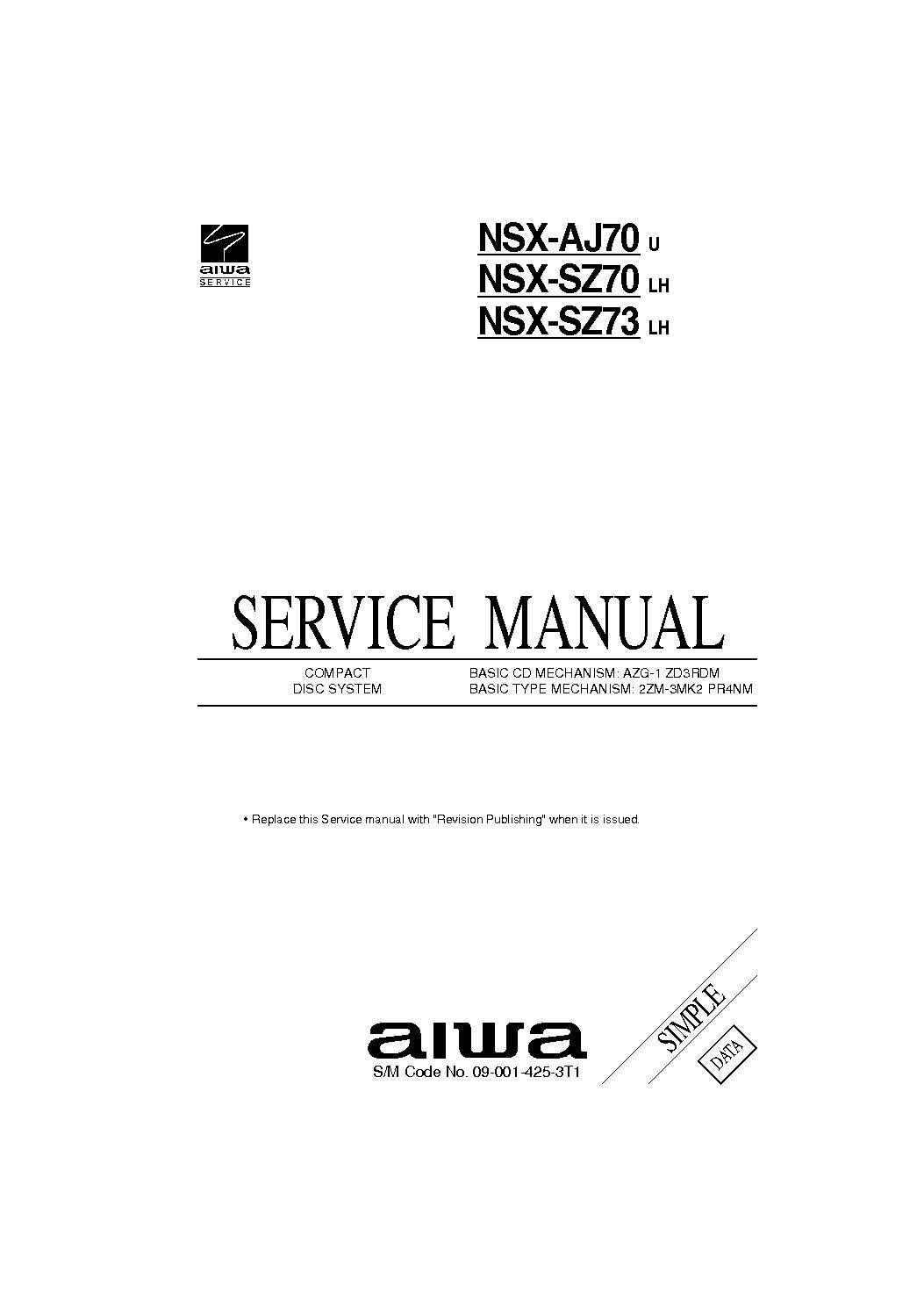 aiwa ad m700 f 66m service manual download schematics eeprom rh elektrotanya com  aiwa xc-700 service manual