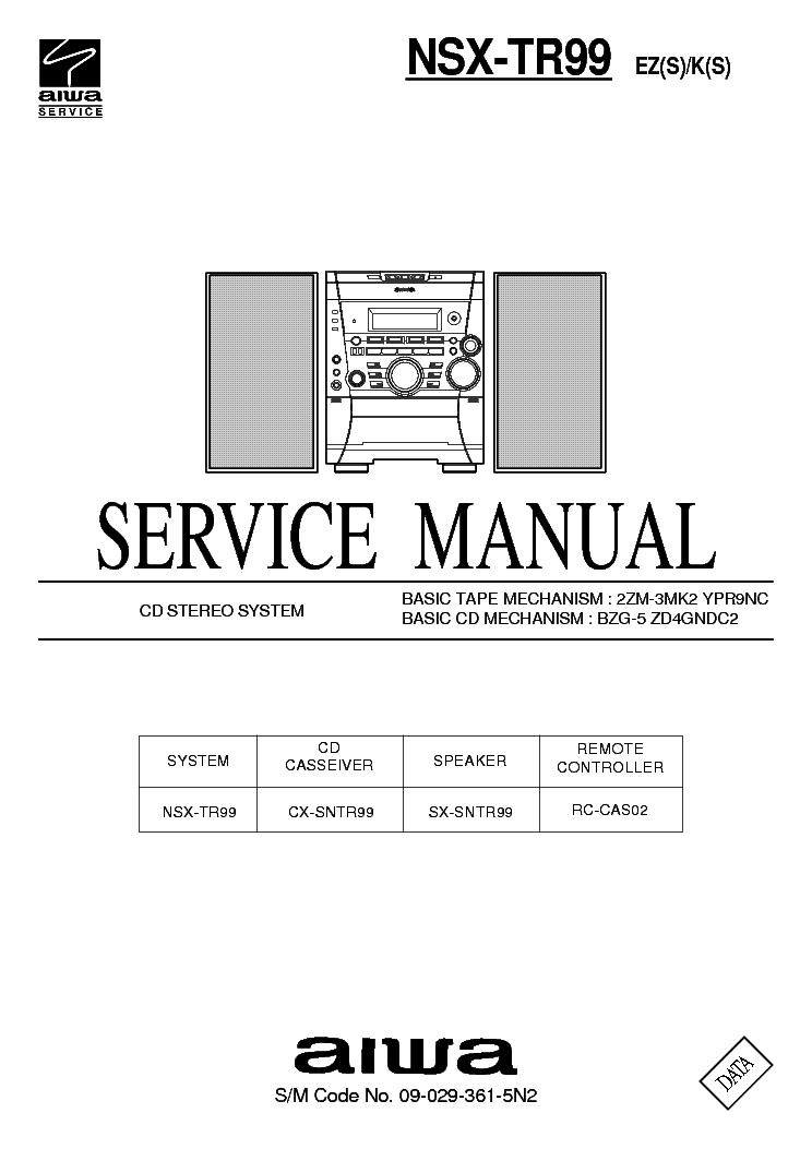 aiwa nsx tr99 service manual download schematics eeprom repair rh elektrotanya com Aiwa Nsx D22 Aiwa Nsx T939
