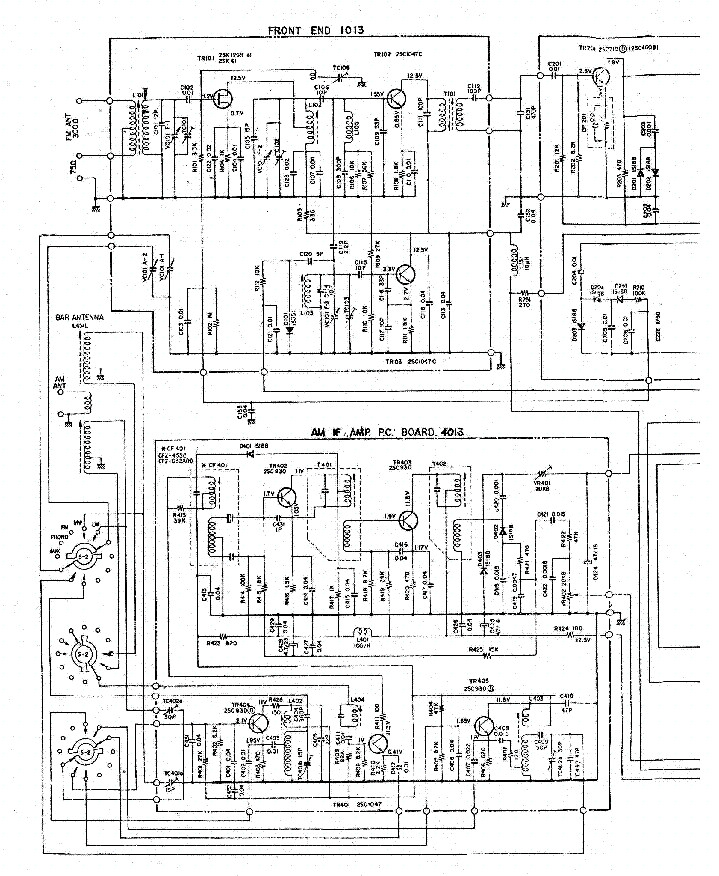 AKAI 8030 SCH service manual (1st page)