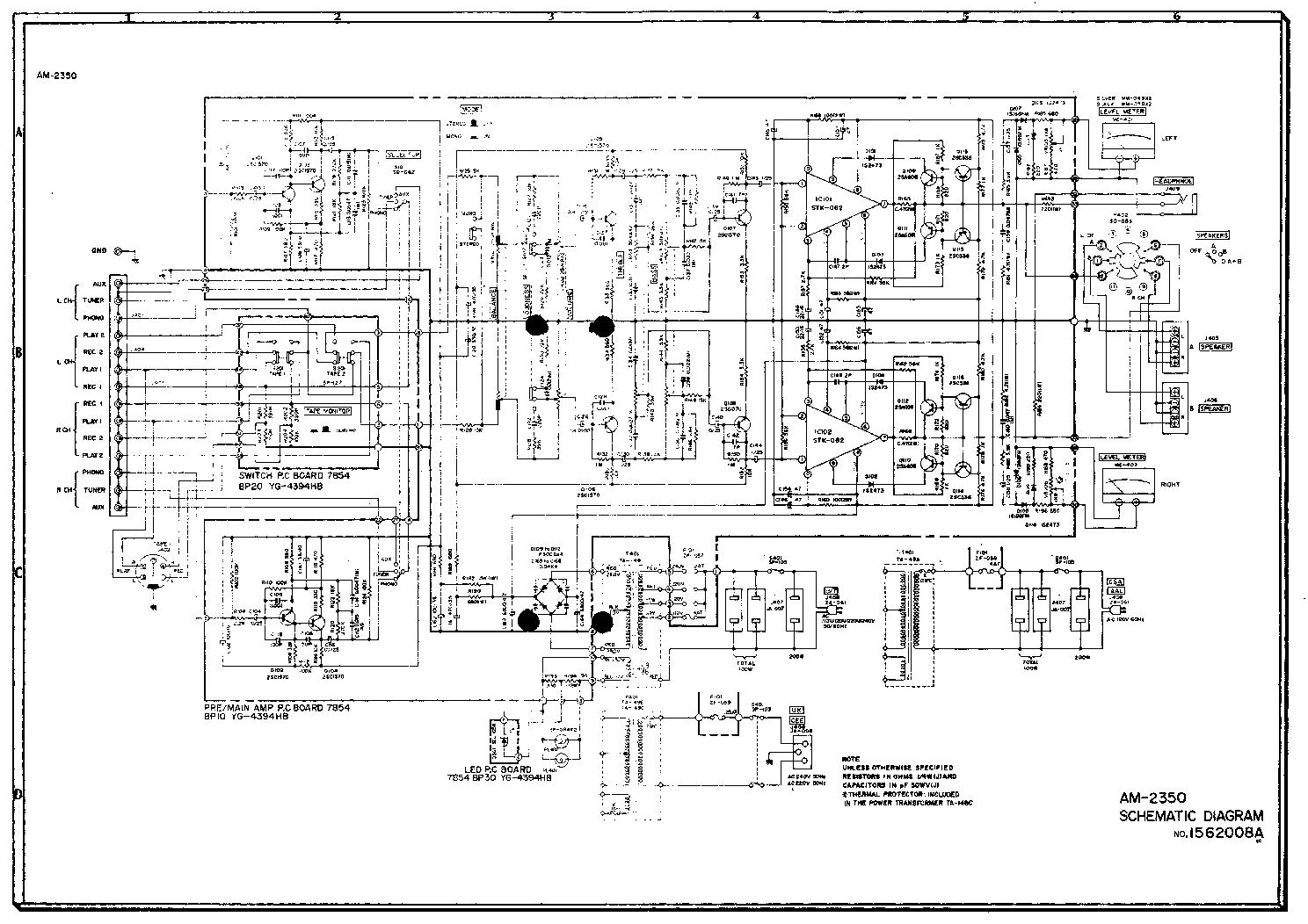 akai_am 2350_sch.pdf_1 akai am 2350 sch service manual download, schematics, eeprom akai air conditioner wiring diagram at alyssarenee.co