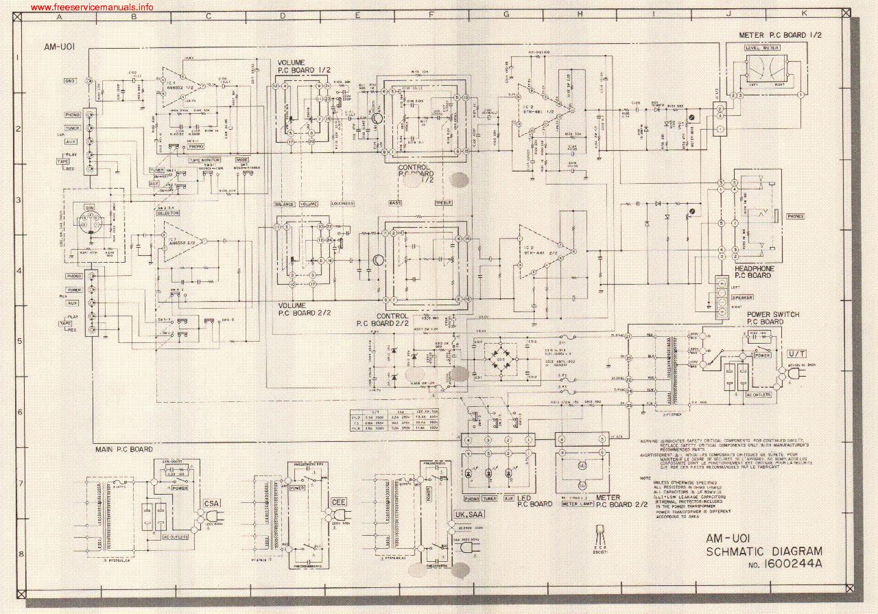 akai_am_u01_schematic.pdf_1 akai am u01 schematic service manual download, schematics, eeprom akai air conditioner wiring diagram at alyssarenee.co