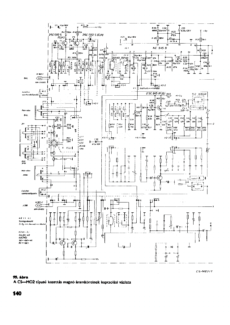 AKAI CS-M02 SCH service manual