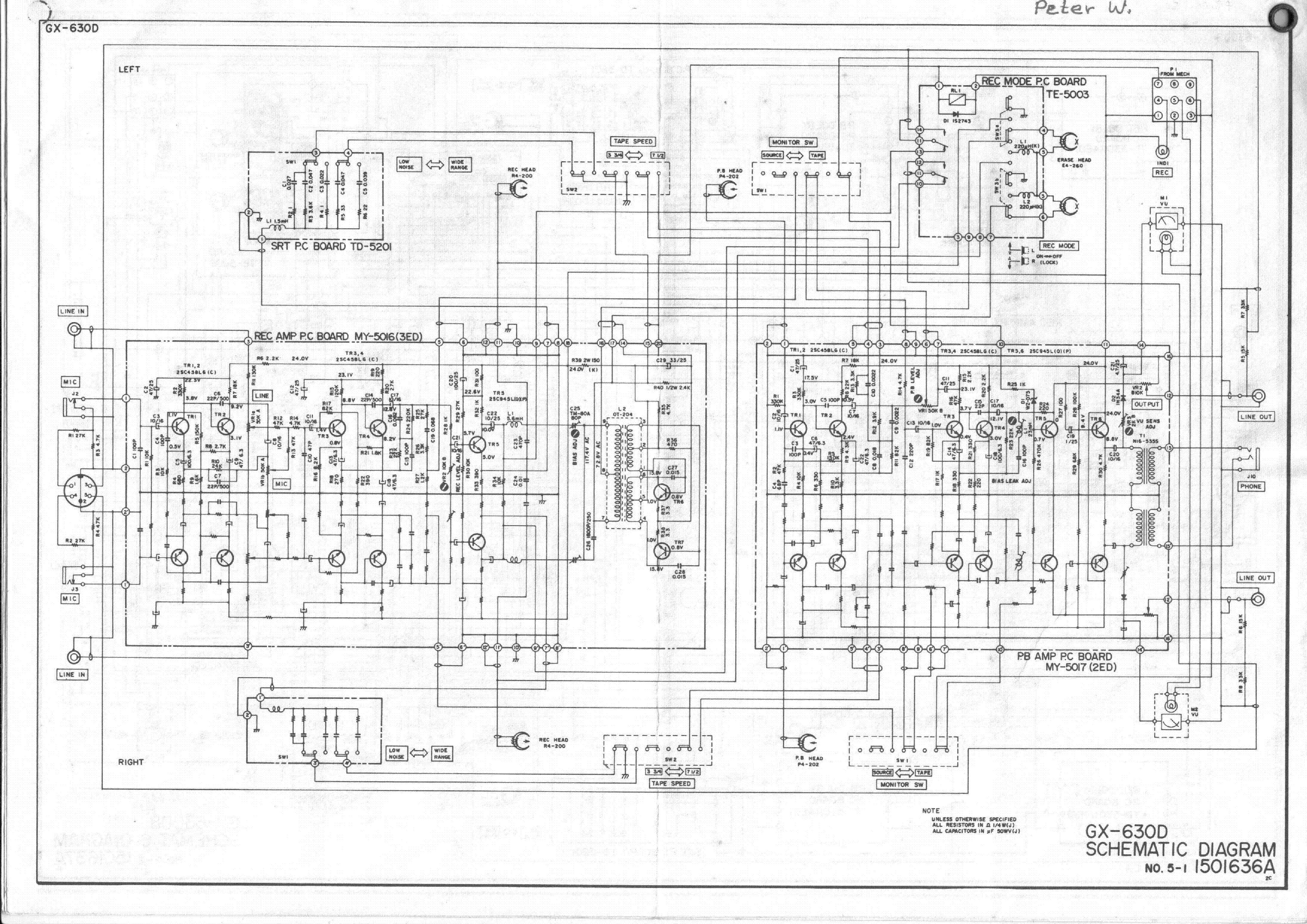 akai gx-635d инструкция