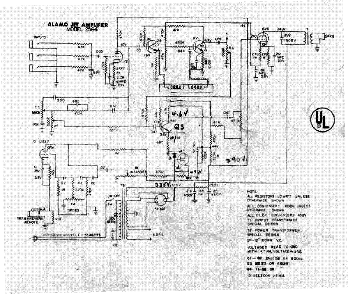 ALAMO JET-2564 SCH service manual (1st page)